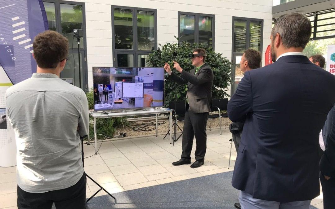 ZREALITY im SWR: Unsere HoloLens-Anwendung auf der KI: Zukunftsmesse