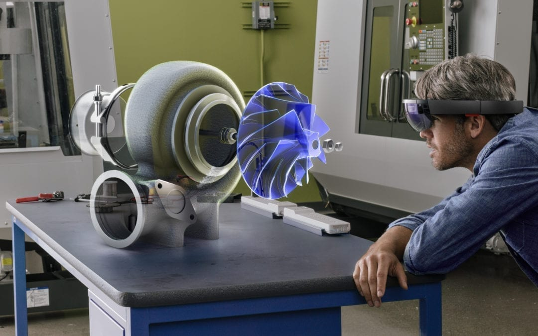 HoloCADview – Verschmelzen Sie virtuelle Objekte mit der Realität!