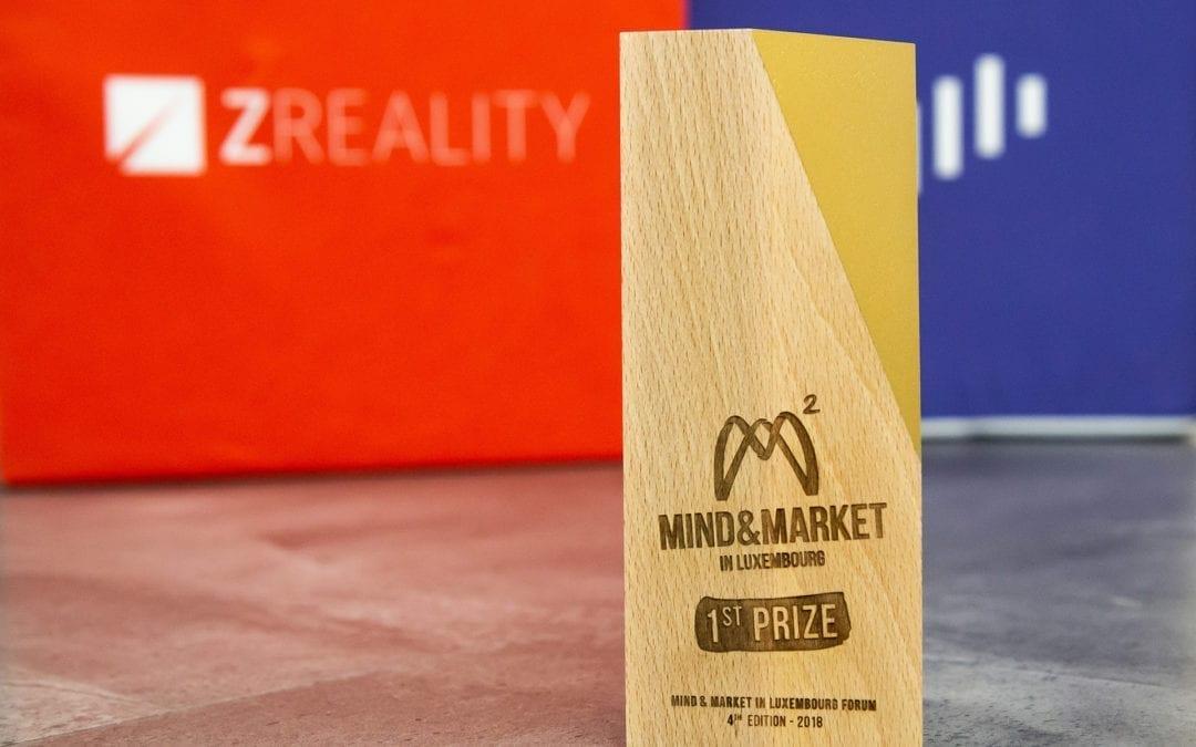 Unsere VR-Plattform gewinnt den ersten Preis in Luxemburg