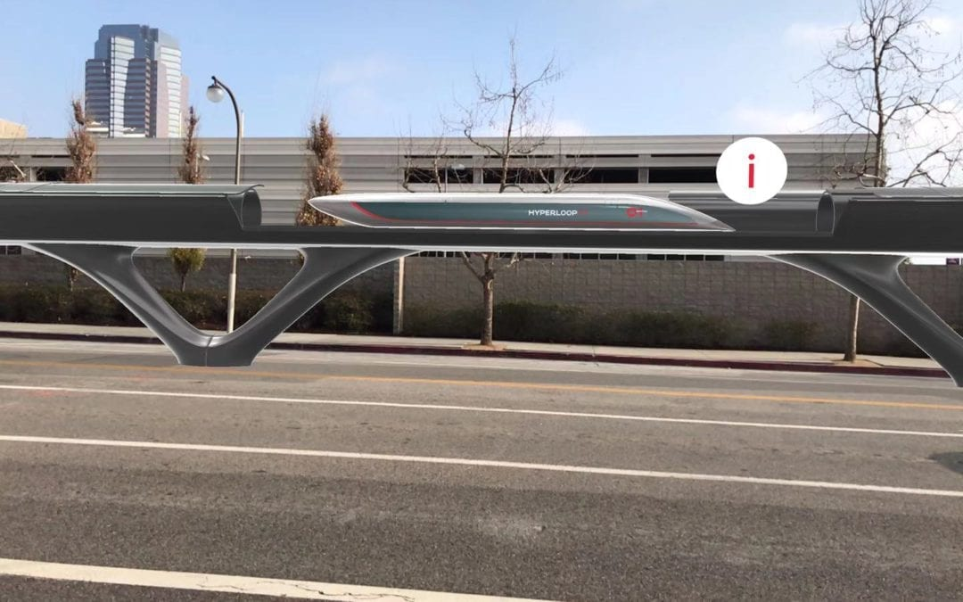 ZREALITY and HyperloopTT present Augmented Reality Mobile Application visualizing the first Full-scale Hyperloop system