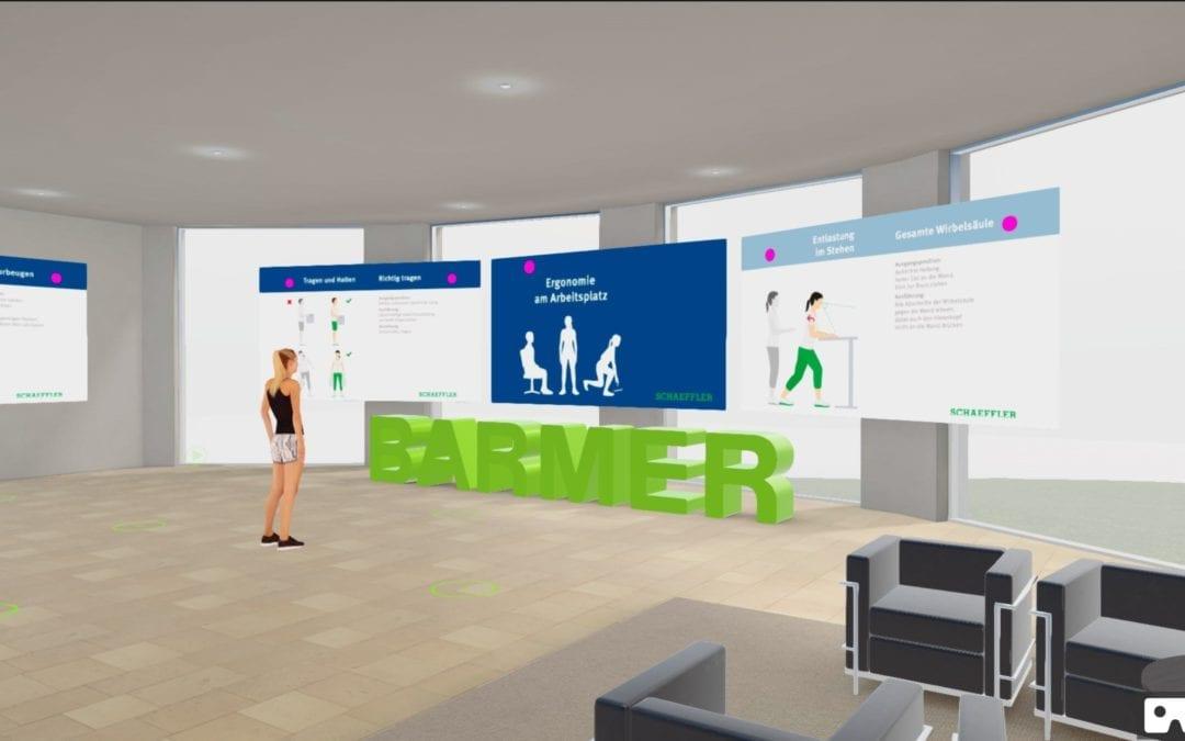 BARMER – Mit Virtual Reality die Gesundheit der Mitarbeiter fördern – Web3D | VR