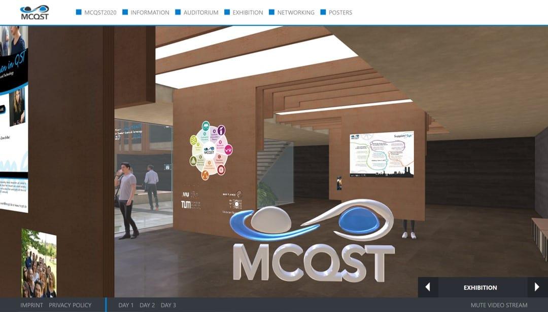 MCQST – Virtual Event – Web 3D | VR