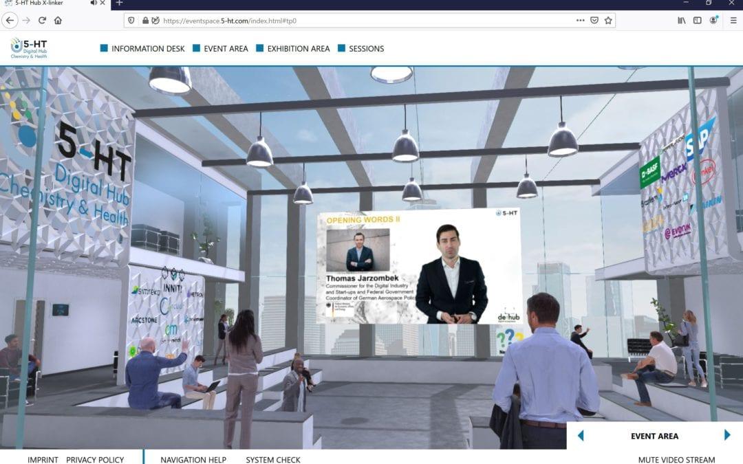 5HT Xlinker – Virtual Event – Web 3D | VR