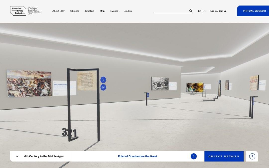1700 Jahre jüdisches Leben im deutschsprachigen Raum – Eine virtuelle Galerie erzählt die Geschichte jüdischer Kunst aus Dutzenden von Ländern und Museen rund um den Globus